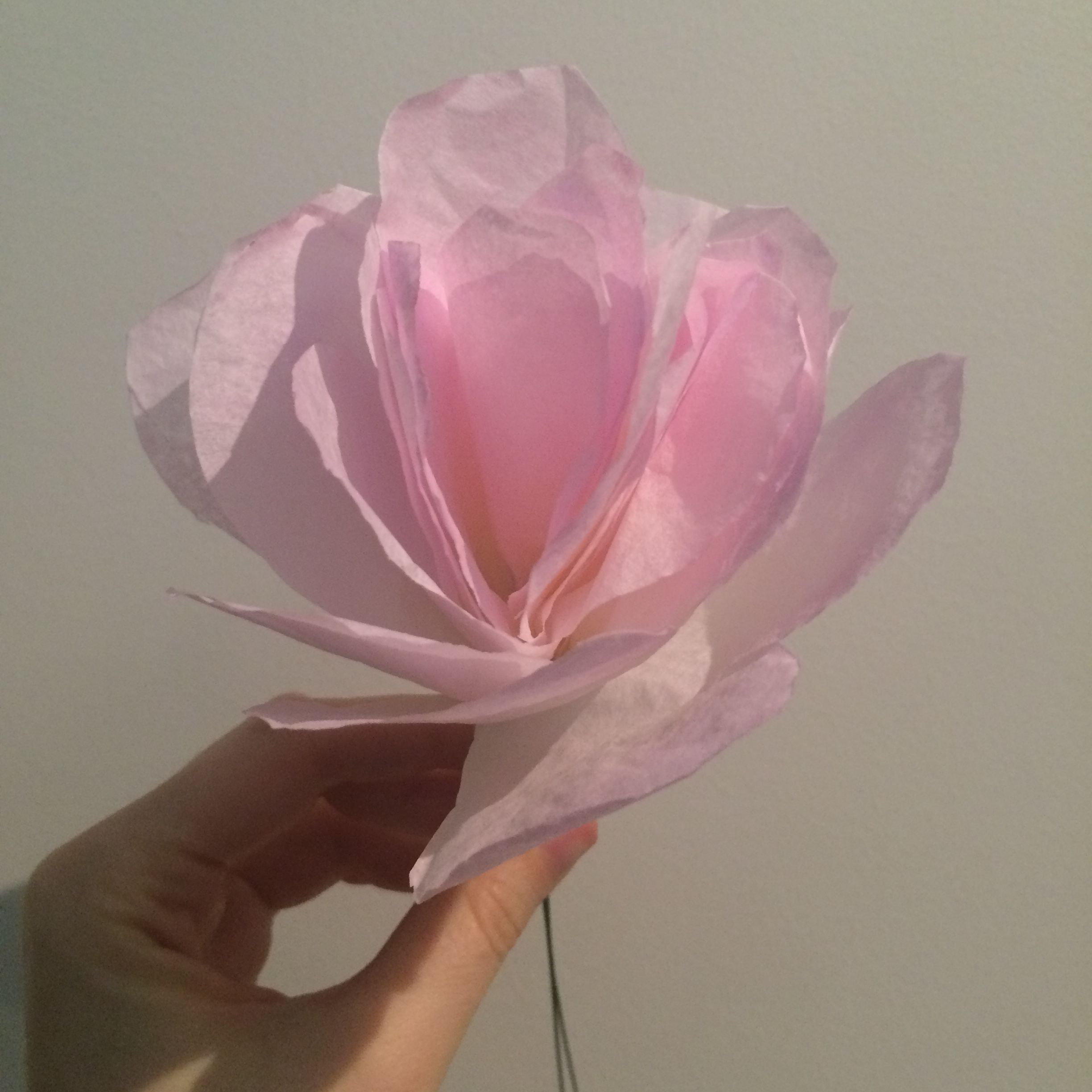 A Paper Flower Project A Missyllaneous Life